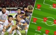 Đội hình ra sân ĐT Việt Nam đấu UAE: Bộ ba 'thiết giáp', đứa con của thần gió