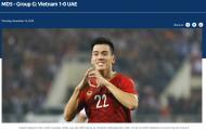 Trang chủ AFC dùng 3 từ để miêu tả bàn thắng của Tiến Linh vào lưới UAE