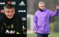 Solskjaer phá vỡ im lặng, tuyên bố ngắn gọn về việc Mourinho tái xuất