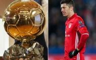 Nhìn vào tấm gương Ribery, Lewandowski 'đá xoáy' giải thưởng Quả Bóng Vàng