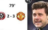 Cười té ghế với loạt ảnh chế Man Utd ngược dòng