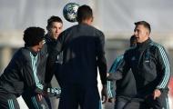 Ronaldo không nở nụ cười trước trận gặp Atletico Madrid