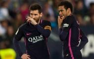 Tiết lộ bất ngờ: Messi hạ mình, đích thân gọi điện cho Neymar nói 1 điều khẩn thiết