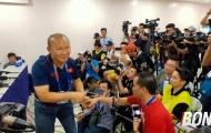 HLV Park Hang-seo có hành động đặc biệt sau trận đại thắng của U22 Việt Nam trước Lào