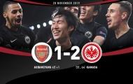 Bị người Châu Á bắn hạ, Arsenal lập kỷ lục kinh hoàng sau 1235 trận
