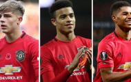 Man Utd công bố 3 ứng viên cho danh hiệu cầu thủ xuất sắc nhất tháng 11