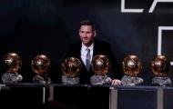 'Đáng ra Messi phải hơn Ronaldo 10 QBV'