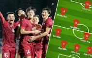Đội hình ra sân U22 Việt Nam đấu Singapore: Truyền nhân Văn Lâm, 'Ảo thuật gia' châu Á
