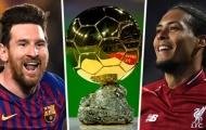 Messi về nhất, Van Dijk về nhì; Quả bóng vàng đã bất công?