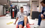 'Hòn đá tảng' điên cuồng tập luyện, Bayern và tuyển Đức đã có thể mỉm cười