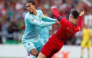 Van Dijk: 'Ronaldo thực sự là đối thủ của tôi à?'