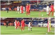 SỐC! U22 Singapore giở trò bẩn trong tình huống U22 Việt Nam ghi bàn
