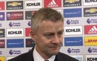 XONG! Rõ thái độ của Mourinho khi gặp Solskjaer sau trận
