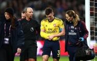 'Toang' cho Arsenal, Tierney nghỉ đến cuối mùa