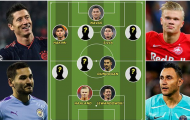 ĐHTB vòng bảng Champions League: Không Messi lẫn Ronaldo
