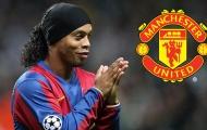 'Ronaldinho đã lừa tôi gia nhập Man United!'