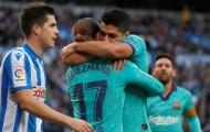 Griezmann hành động lạ, Barca chia điểm tiếc nuối với Sociedad