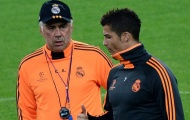 Đội hình học trò xuất sắc nhất của Ancelotti: Ronaldo, Kaka và hàng loạt huyền thoại