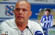 Quá rõ! HLV Heerenveen xác nhận, chốt cơ hội ra sân của Văn Hậu