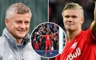 Man Utd và 4 'sát thủ' thay thế nếu thất bại trong vụ Erling Haaland