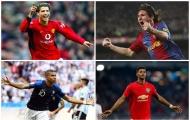 10 'siêu máy săn bàn' ở tuổi 21: Messi = Ronaldo+15, Mbappe chỉ xếp thứ 3