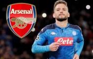 Arsenal bất ngờ cạnh tranh Mertens với 2 đại gia nước Đức