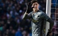 Sau Zidane, đến lượt Courtois phát biểu 1 điều khiến CĐV Real phát hờn