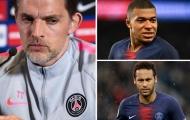 HLV Tuchel không ngớt lời khen ngợi cặp 'song sát' Neymar - Mbappe
