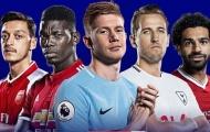 Đội hình hay nhất lượt đi Premier League 2019/2020