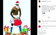 Dàn sao Serie A đón Giáng sinh: Balotelli gây sốc, Ronaldo khoe cơ bắp bên ông già Noel
