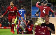 Virgil van Dijk hướng tới xác lập cột mốc lịch sử cùng Liverpool