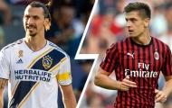 """Ibrahimovic đến, AC Milan định đoạt tương lai """"khẩu lục bạc"""""""