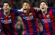 'Tam tấu siêu đẳng' Neymar, Messi và Suarez tái hợp ở Uruguay
