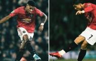 Thi đấu thăng hoa, Rashford tiếp tục được so sánh với Ronaldo