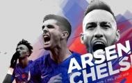 Đội hình kết hợp derby thành London: Không Ozil, Arsenal bị áp đảo