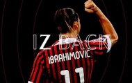 """""""Ibrahimovic có thể tạo ra sự khác biệt tại Serie A"""""""