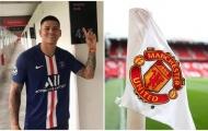CHOÁNG! 'Gã thất sủng' công khai mặc áo PSG, Man Utd dậy sóng