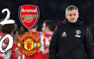 Đây! 3 'tội đồ' khiến Man United ôm hận trước Arsenal