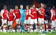 Phản ứng của Cesc Fabregas khi Arsenal thắng giòn giã Man Utd