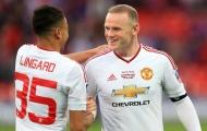 Đá 1 trận, Rooney vượt qua thành tích trong 1 năm của Lingard