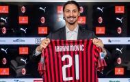 Đã rõ lý do Ibrahimovic chọn số áo 21 ở AC Milan