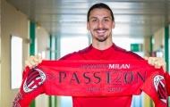 Với 1 hành động, Ibrahimovic đã khiến người AC Milan cảm thấy ấm lòng