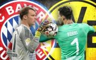 Không hẹn mà gặp, Bayern và Dortmund đều được 2 'số 1' hiến thân