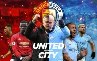 Đội hình kết hợp derby Manchester: Loại bỏ Shaw, Aguero nhường ấn kiếm