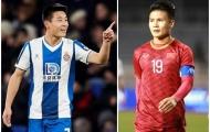 Sao Trung Quốc tỏa sáng tại La Liga, bao giờ đến lượt Quang Hải?