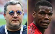 11 ngôi sao bắt tay với 'cáo già' Mino Raiola: 2 'rắc rối' của Man Utd