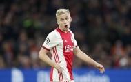 Van de Beek chốt khả năng gia nhập Man Utd không ngờ