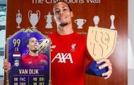 Van Dijk lập kỷ lục khó tin trong FIFA 20