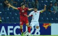 Lộ hình ảnh gây choáng khi U23 Việt Nam hòa U23 Jordan