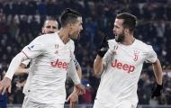 Ronaldo 'nổ súng', Juventus trở thành nhà vô địch lượt đi ở Serie A